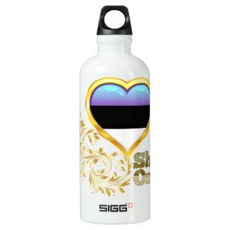 Shine On Estonia Water Bottle