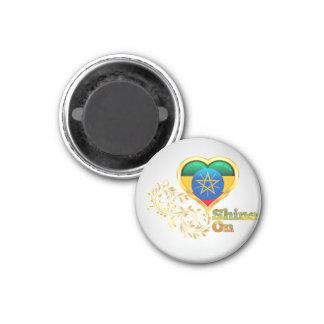Shine On Ethiopia Magnet