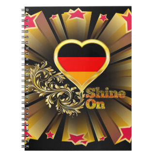 Shine On Germany Notebook