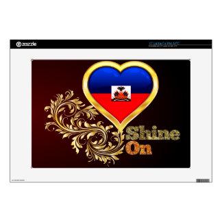 Shine On Haiti Laptop Decal