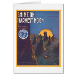 Shine On, Harvest Moon Songbook Cover Card