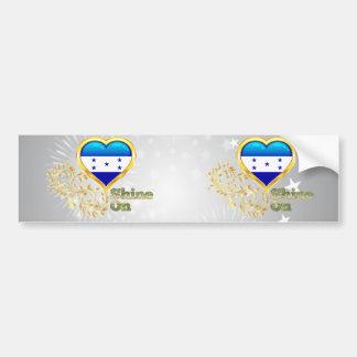 Shine On Honduras Bumper Sticker