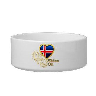 Shine On Iceland Pet Food Bowl