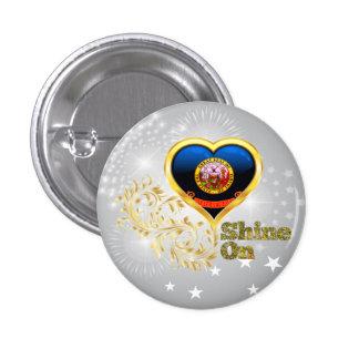 Shine On Idaho Buttons