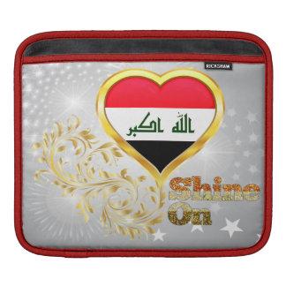 Shine On Iraq iPad Sleeves