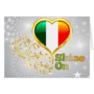 Shine On Ireland Card