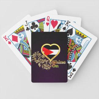 Shine On Jordan Bicycle Playing Cards