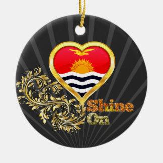 Shine On Kiribati Christmas Tree Ornaments