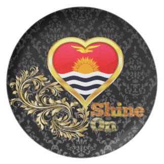 Shine On Kiribati Party Plates