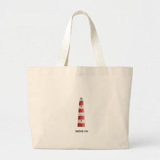 Shine On Large Tote Bag
