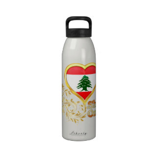 Shine On Lebanon Drinking Bottle