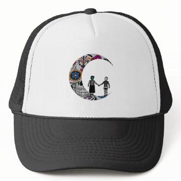 Halloween Themed SHINE ON LOVE TRUCKER HAT