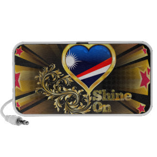 Shine On Marshall Islands Notebook Speaker