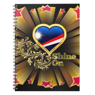 Shine On Marshall Islands Spiral Notebook