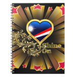 Shine On Marshall Islands Spiral Notebooks