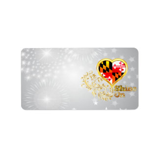Shine On Maryland Label