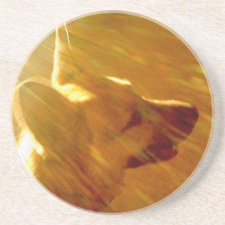 Shine On Me German Shepherd #2 Coaster