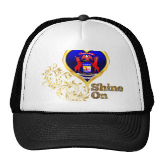 Shine On Michigan Trucker Hat