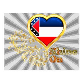 Shine On Mississippi Postcard