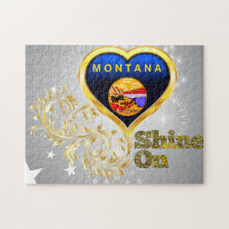 Shine On Montana Jigsaw Puzzle