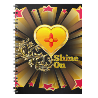 Shine On New Mexico Notebook