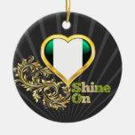 Shine On Nigeria Christmas Tree Ornaments