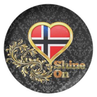 Shine On Norway Plates