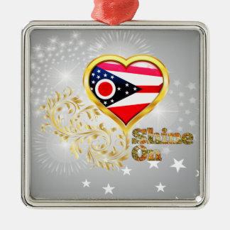 Shine On Ohio Ornament
