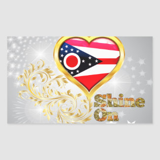 Shine On Ohio Sticker