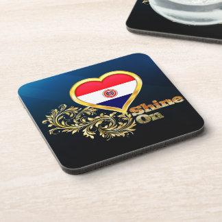 Shine On Paraguay Beverage Coaster