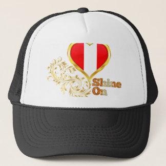 Shine On Peru Trucker Hat