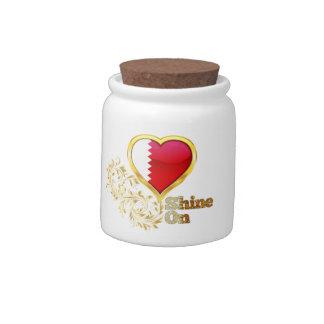 Shine On Qatar Candy Jar