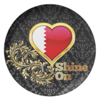 Shine On Qatar Dinner Plates