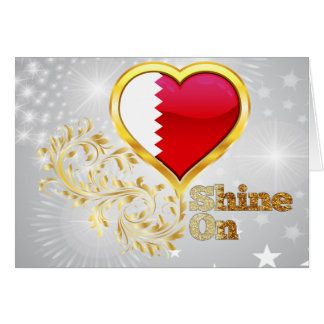 Shine On Qatar Greeting Cards