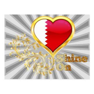Shine On Qatar Post Card