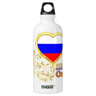 Shine On Russia Aluminum Water Bottle