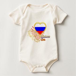 Shine On Russia Baby Bodysuit