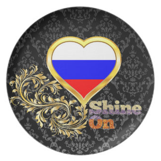 Shine On Russia Dinner Plate
