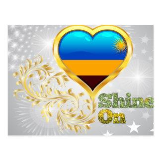 Shine On Rwanda Postcard