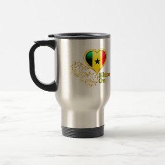 Shine On Senegal Coffee Mugs