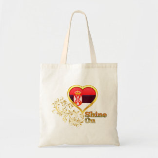Shine On Serbia Canvas Bags