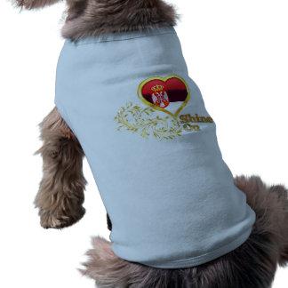 Shine On Serbia Dog Tshirt