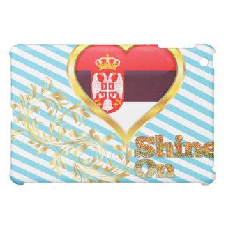 Shine On Serbia iPad Mini Cases
