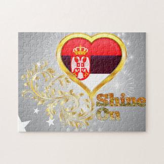 Shine On Serbia Jigsaw Puzzles