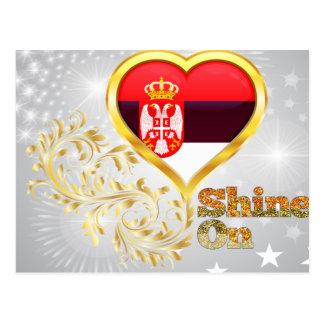 Shine On Serbia Postcards