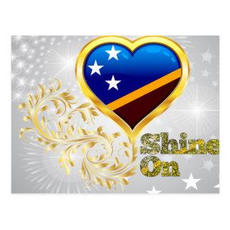 Shine On Solomon Islands Postcard