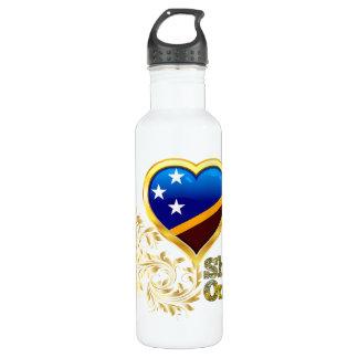 Shine On Solomon Islands Stainless Steel Water Bottle