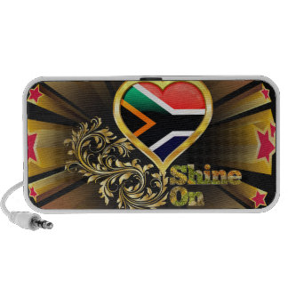 Shine On South Africa iPhone Speakers
