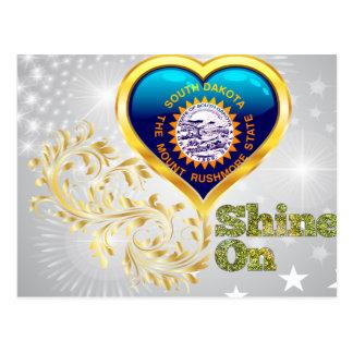 Shine On South Dakota Postcard