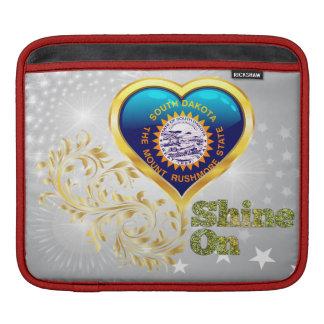 Shine On South Dakota Sleeve For iPads